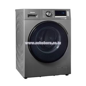 Hisense Front Load 10Kg / 7Kg Washer Dryer Titanium - WDBL1014VT